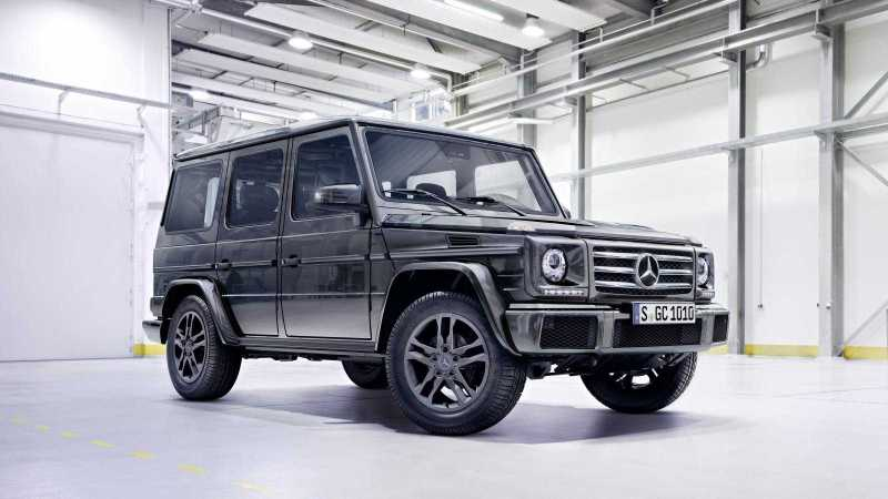 Mercedes-Benz-G550