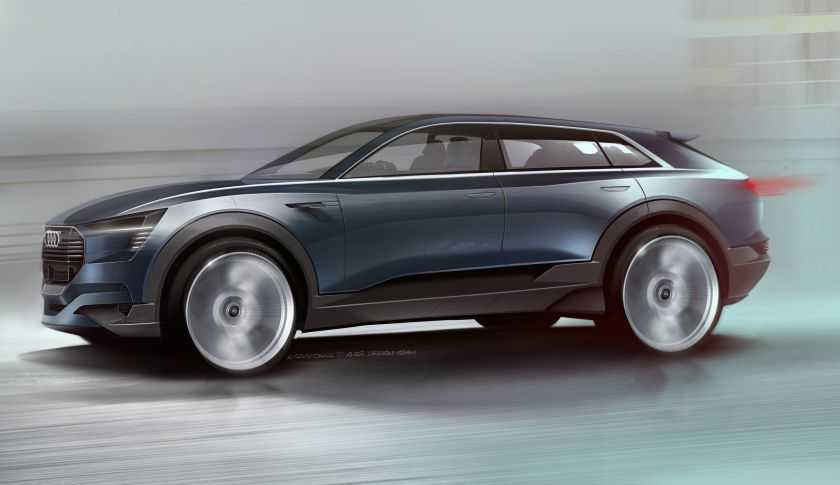 Audi Q6 e-Tron All Electric SUV with 310 Mile Range to Debut at Frankfurt Motor Show 2015