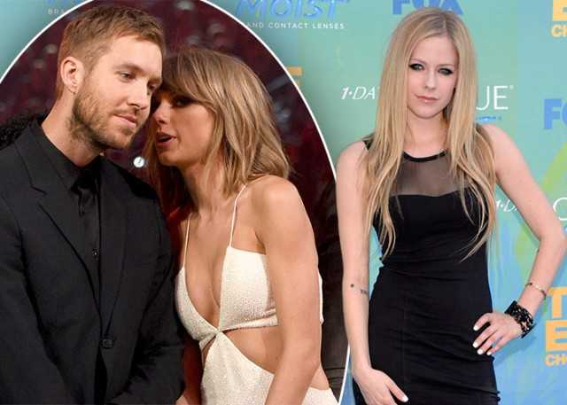 Calvin Harris Stands up for Taylor Swift yet Again in her Twitter Feud with Avril Lavigne