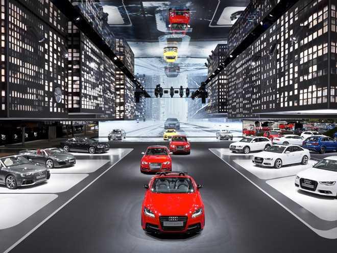 Pictures of the Audi C-Bev Concept Leak Online Ahead of Frankfurt Motor Show