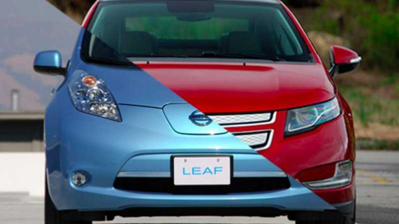 2016 Chevy Bolt vs 2016 Nissan Leaf