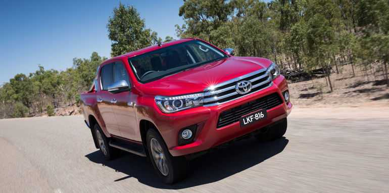 2016 Toyota HiLux Specs