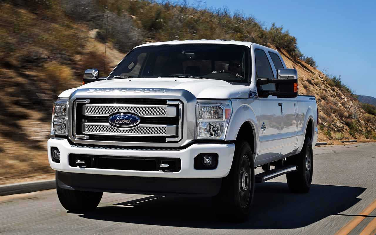2017 Ford F-Series Super Duty – The Big Truck Gets Tech Goodies