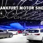 Frankfurt Motor Show 2015 – Four Trends to Watch For