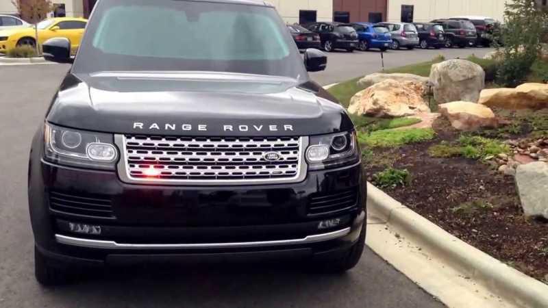 Land Rover Bulletproof Sentinel