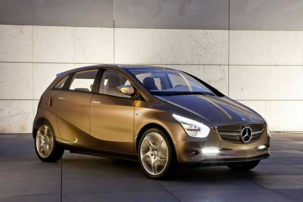 Mercedes Electric Car