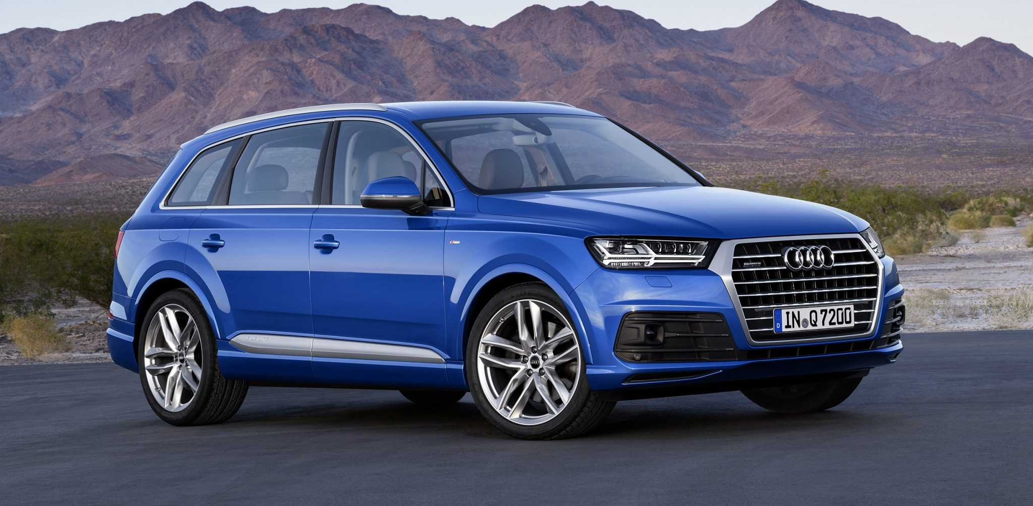 The Second Generation 2016 Audi Q7 is a Luxury, Almost Self-Driven SUV