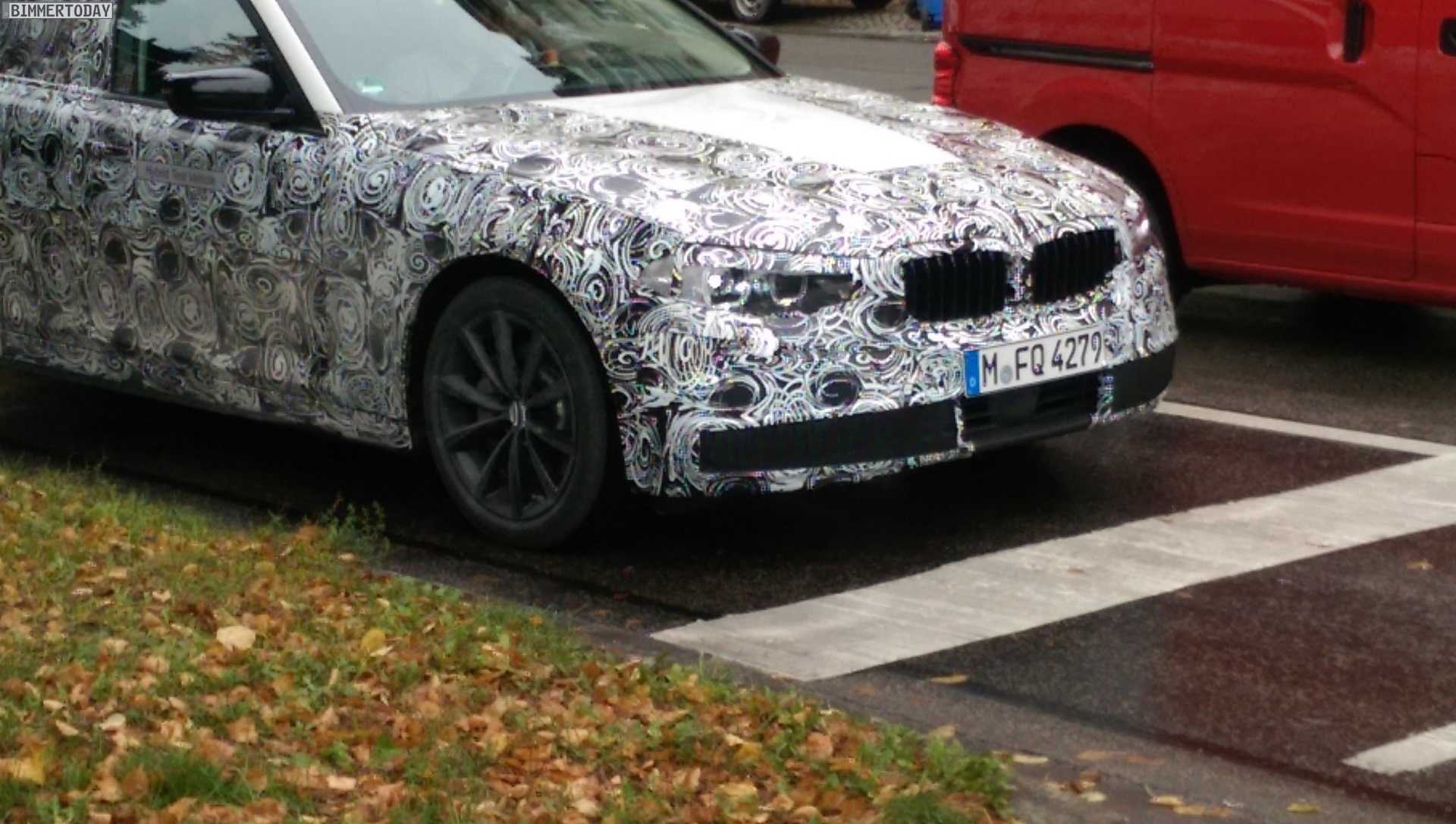 Brand New Spy Photos of BMW 530e, 540e Hybrid Released