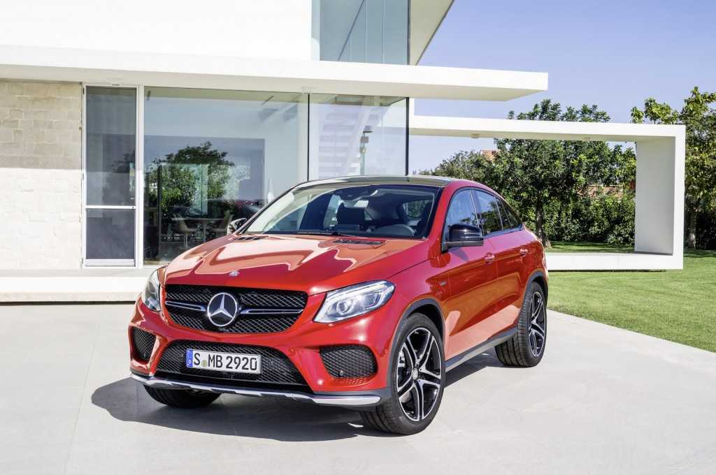 Mercedes-Benz Unveils 2016 GLE 450 AMG 4Matic: Promises 367 Horsepower Output