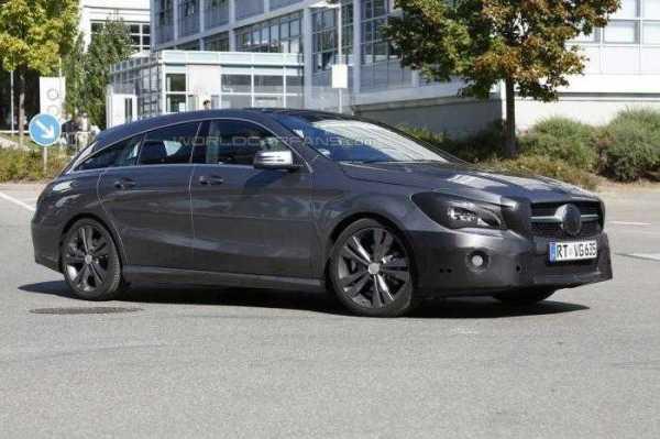 2016 Mercedes Benz CLA Shooting Brake
