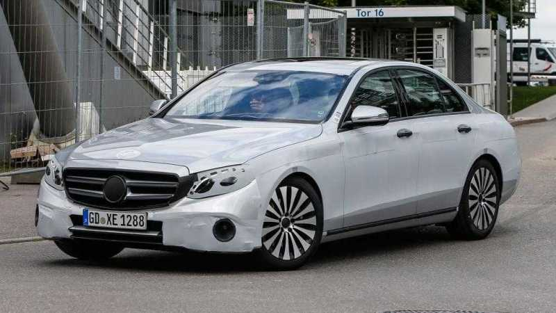2016 Mercedes E-Class-Spy-Photos