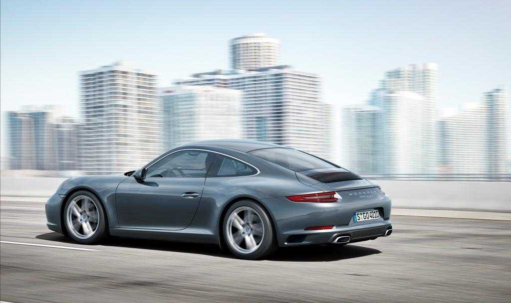 2017 Porsche 911 Carrera Gets All Wheel Drive Boost for Turbo Engines, Speed Boosted to 3.6 Seconds