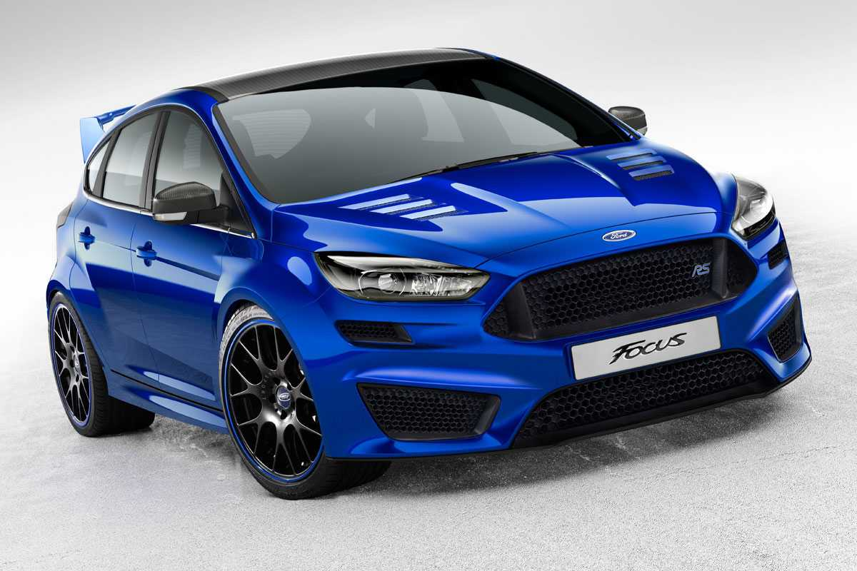 2016 Ford Focus RS Packs 350 Ponies Under the Hood and Features Stall Recovery Technology