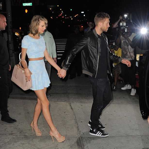Calvin Harris Turns up for Taylor Swift 1989 First Year Anniversary Concert at Miami