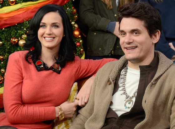 Katy Perry and John Mayer Engage in a Public Display of Affection at a Friend's Wedding