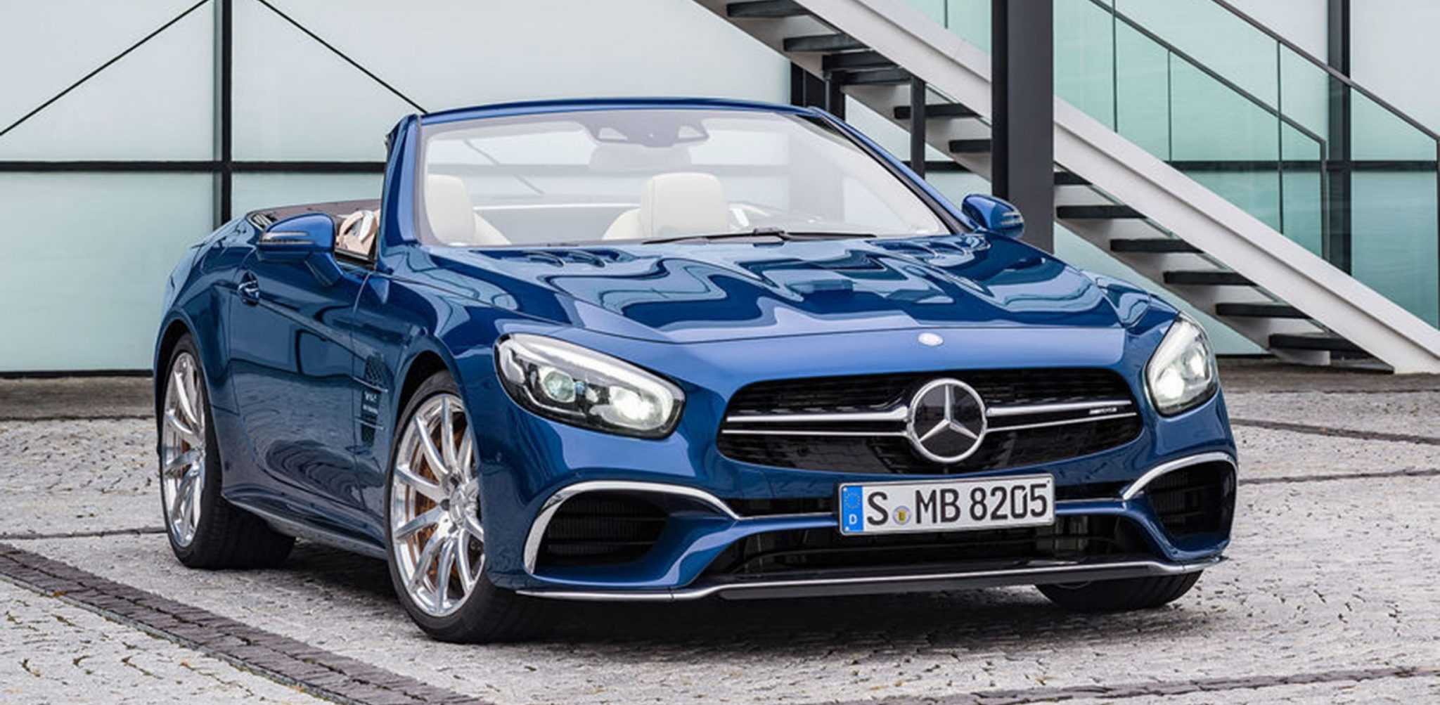 Extremely Stylish Photos of 2016 Mercedes Benz SL Officially Released