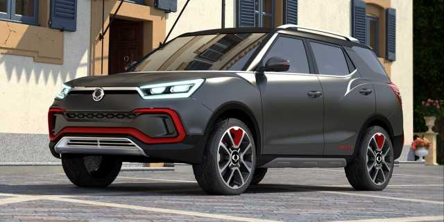 Ssangyong Tivoli Xlv Is Bigger And Better Coming To Geneva Show