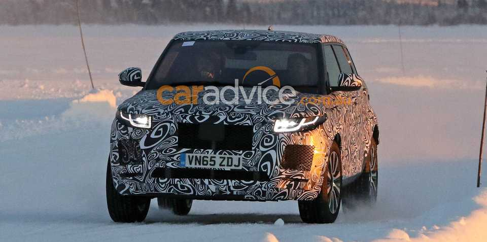 Jaguar E-Pace SUV Spotted in New Spy Shots