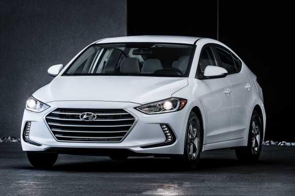 2017 Hyundai Elantra Eco front