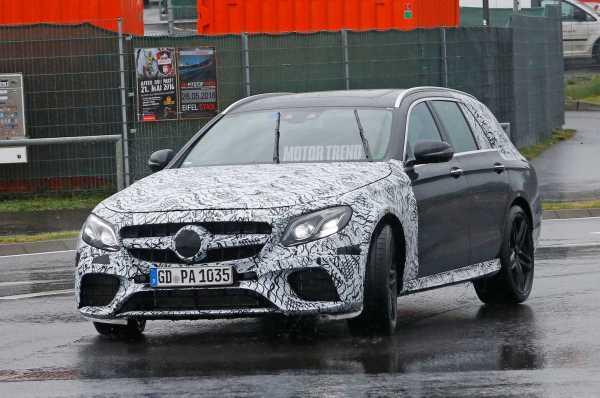 2017 Mercedes AMG E63 Wagon-front