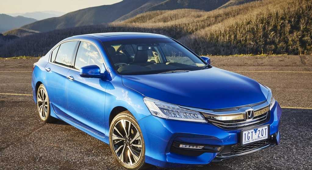 Honda Refreshes Accord Range of Cars in Australia