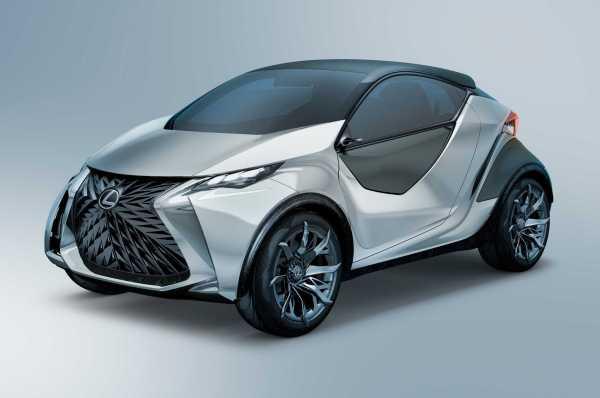 Lexus LF SA front