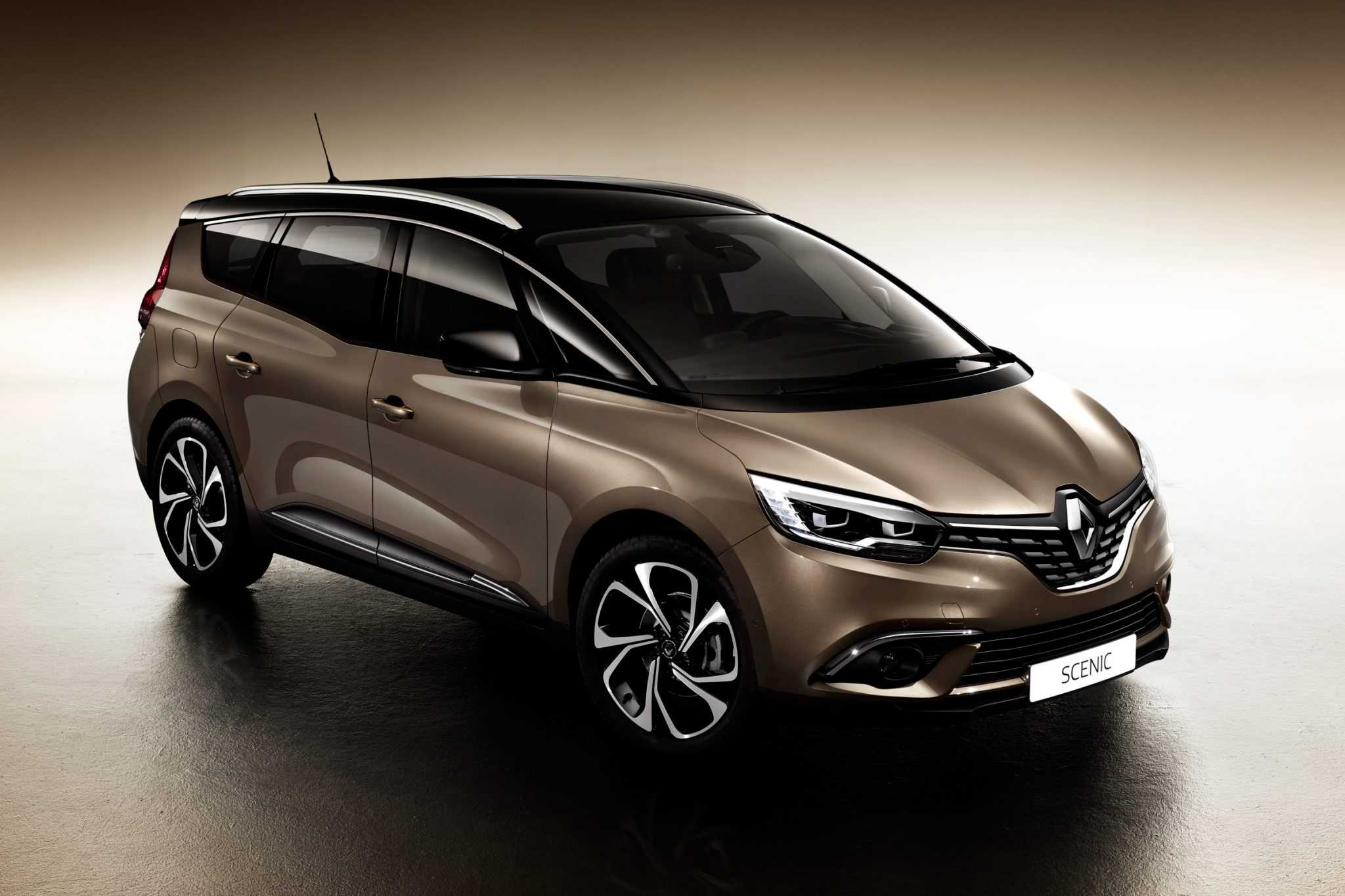 Renault Grand Scenic MPV Revealed and New Features Detailed