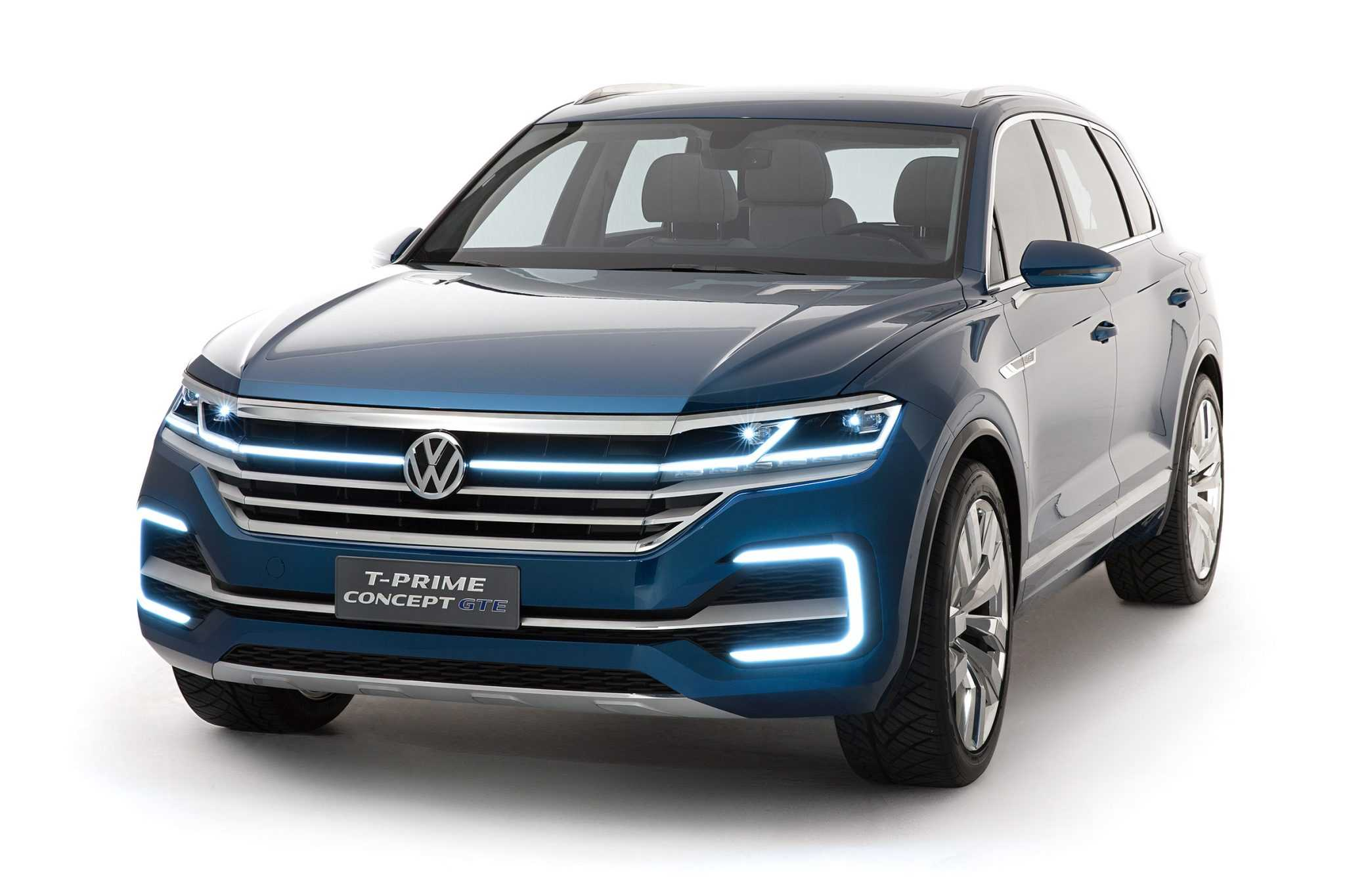 2017 Volkswagen Touareg Gets Refreshed With T-Prime Concept