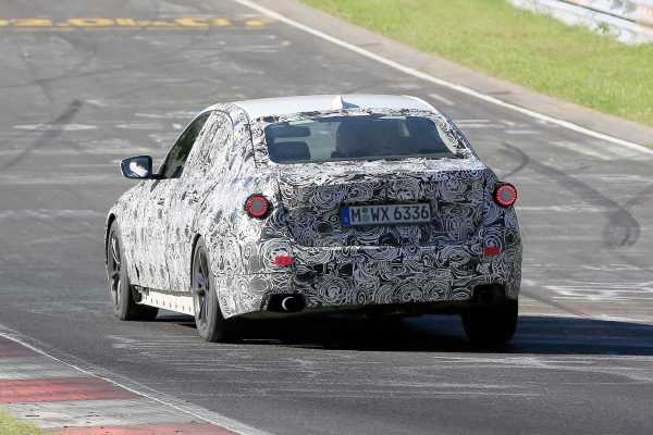 2018 BMW 3 Series Spy rear