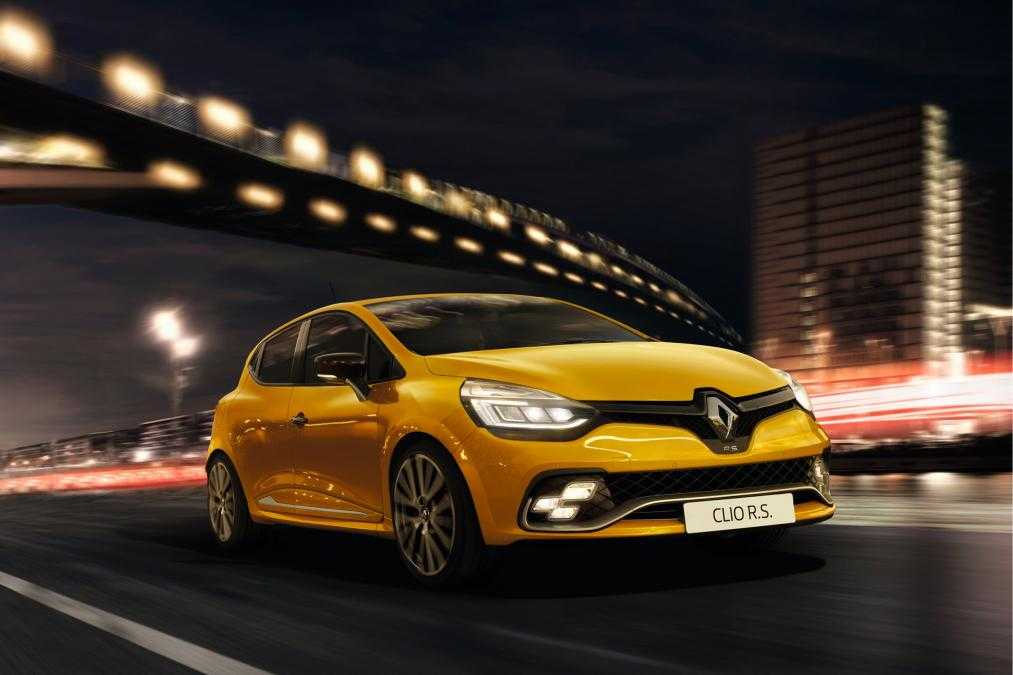 2016 Renault Clio RenaultSport Is Coming Soon To Stores