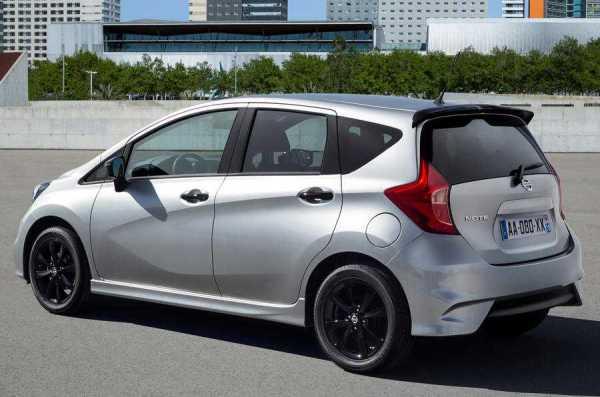 Nissan Note Black Edition rear