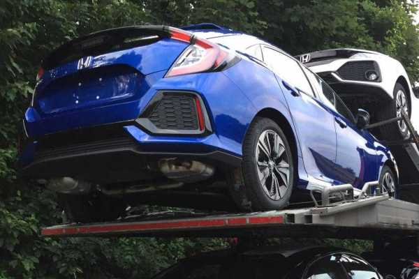 2017 Honda Civic Revealed In New Spy Shots