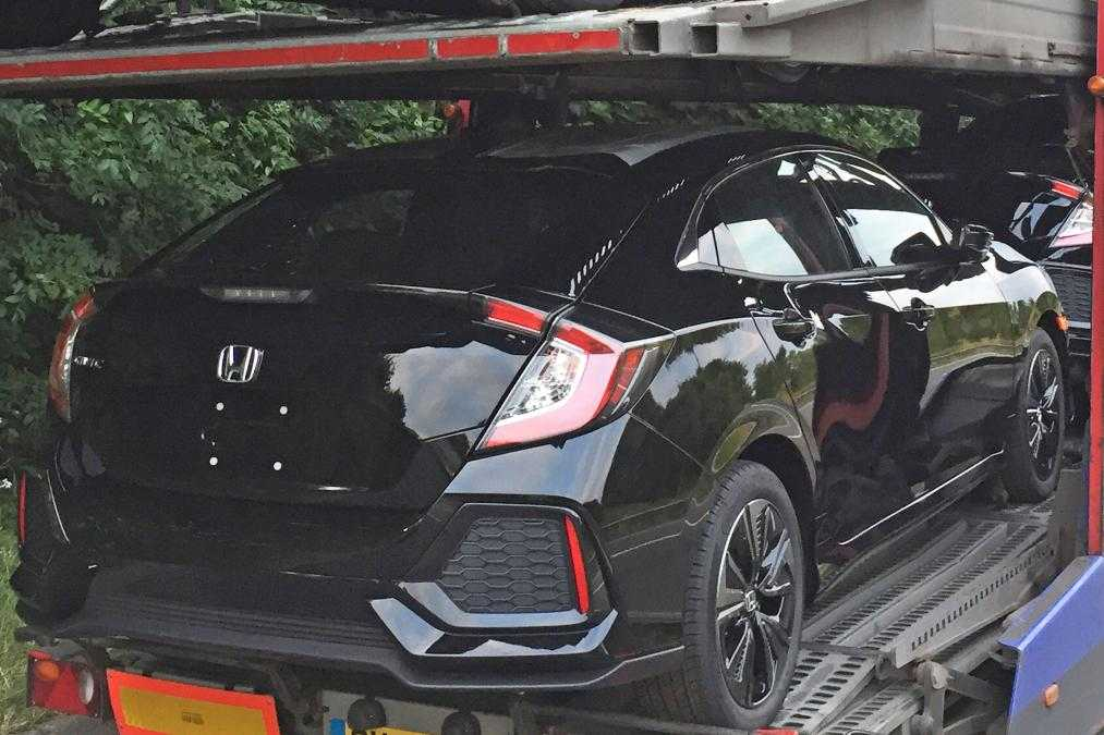 2017 Honda Civic Revealed In New Spy Shots, Specs Detailed