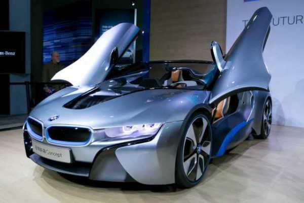 Fully-Electric 2017 BMW i8