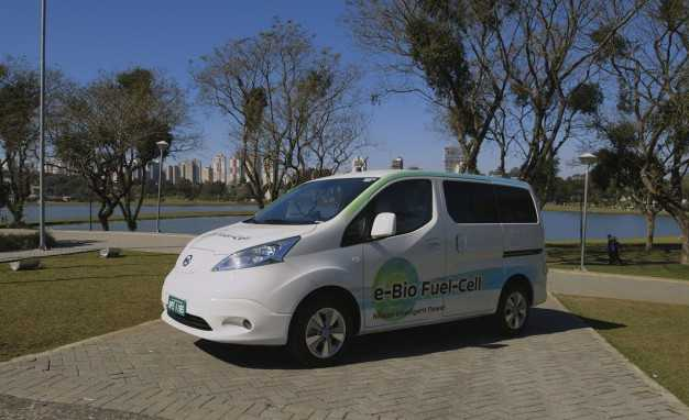 Nissan's New Car Powered By Biofuel Hits
