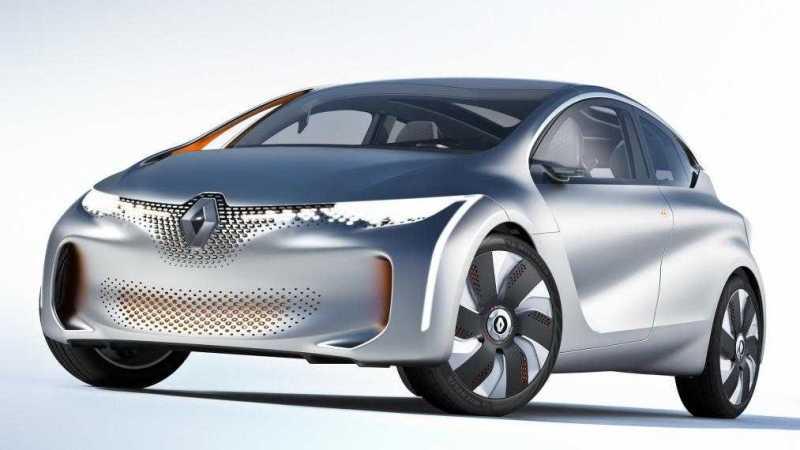Renault EOLAB at 2014 Paris Auto Show