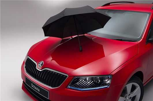 Skoda Adds Umbrella Compartment For Octavia, Fabia and Citigo