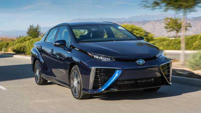There is Nothing New about the 2017 Toyota Mirai Halo Car Other Than its New Color