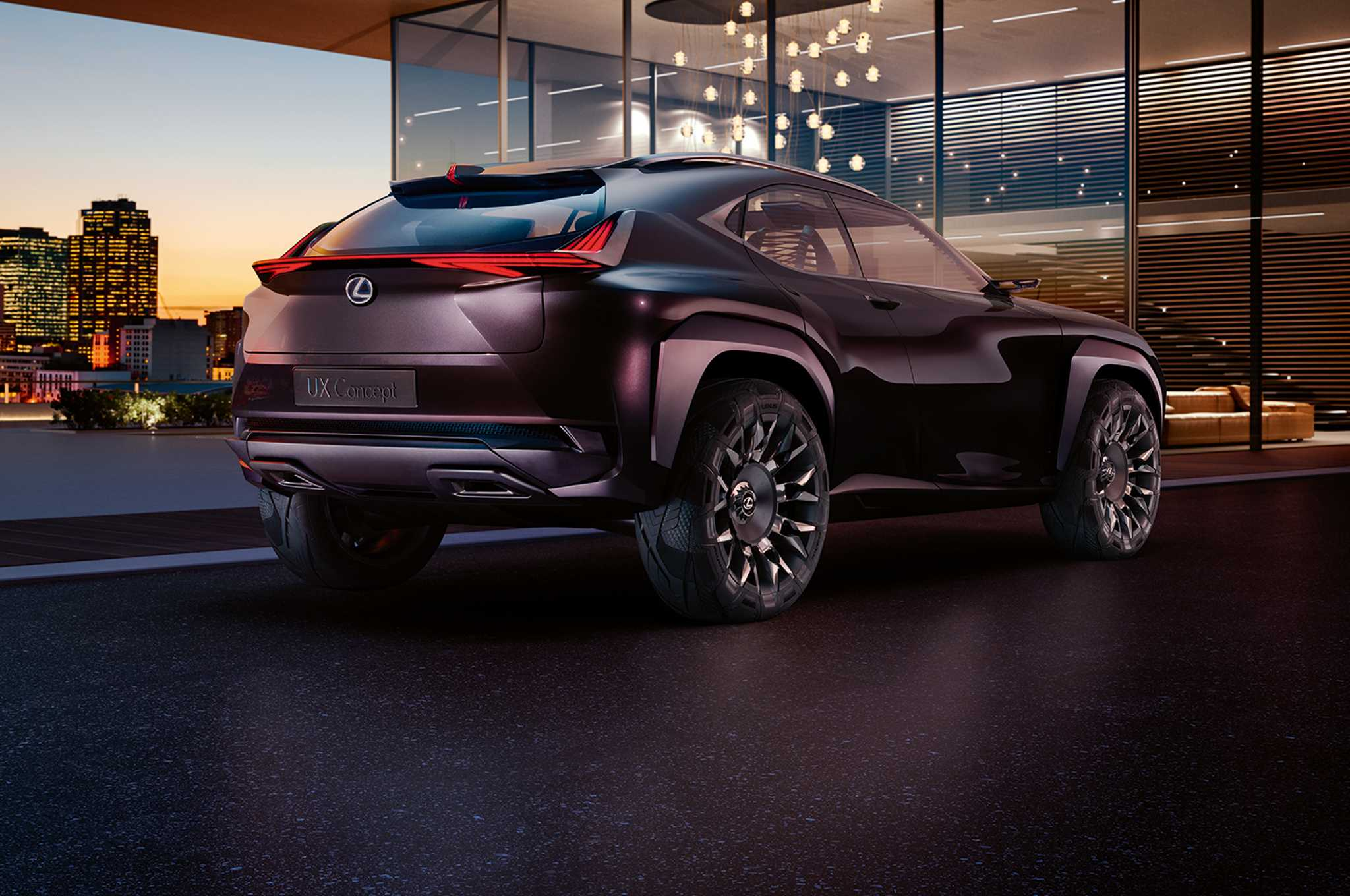 Lexus UX Concept Model Photos Revealed Ahead of Paris Auto Expo
