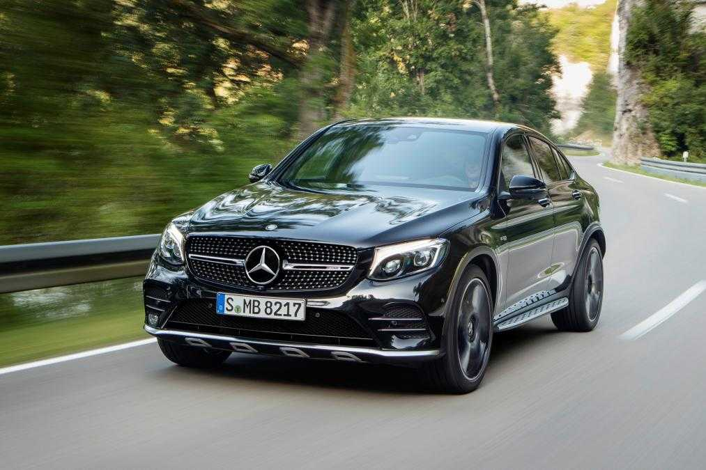 Mercedes AMG GLC 43 Coupe Is Coming To Paris Auto Expo