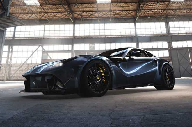 Special Edition Ferrari F12 Caballeria Unveiled by Bengala