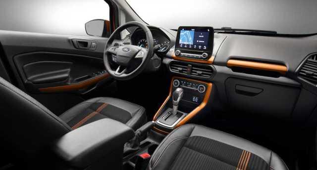 Ford EcoSport Interiors