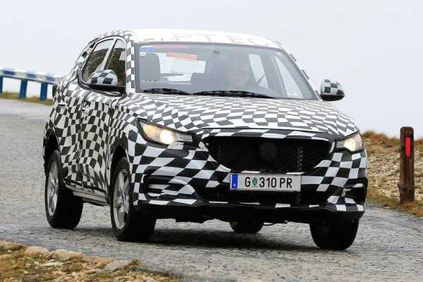 MG ZS Leaked Online