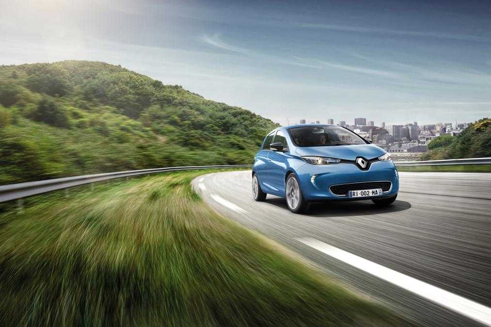 Next Gen Renault Zoe with 250-Mile Range Unveiled