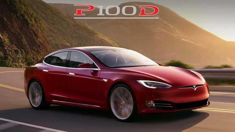 Tesla Model S X P100D Editions