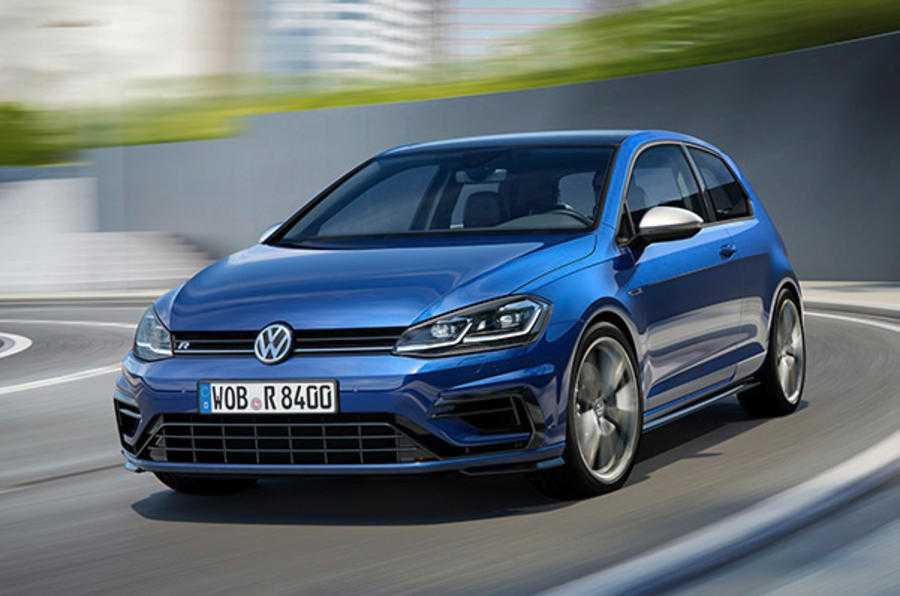 2017 Volkswagen Golf R is Faster than Ever with 306HP and New Safety Features