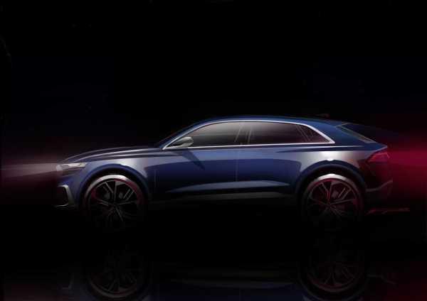 Audi Q8 at Detroit Auto Show