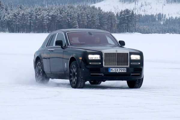 Rolls Royce Cullinan mule
