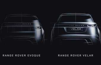 Land Rover Teases New Range Rover Velar Coupe-SUV Model, Coming to Geneva Show