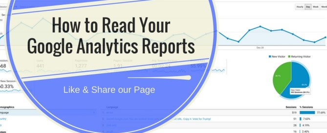 How to read your Google Analytics reports